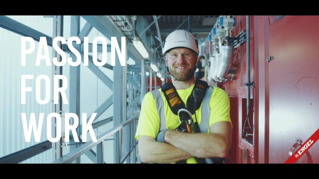 Storytellerfilm - ENGEL: Passion For Work | Erhvervsklatreren Allan