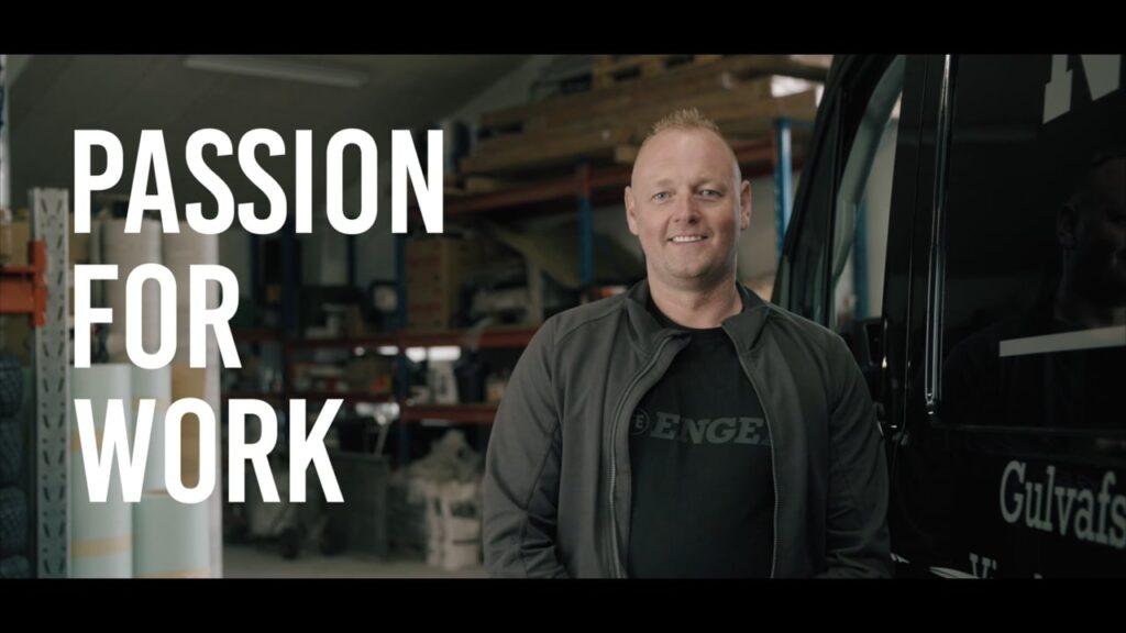 Storytellerfilm for ENGEL: Passion For Work - Gulvlægger