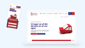Cipecare webdesign for autoværksted