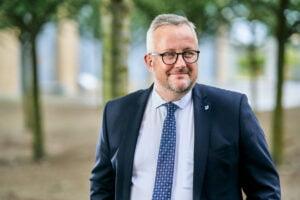 Portræt af Assens Borgmester Søren Steen Andersen
